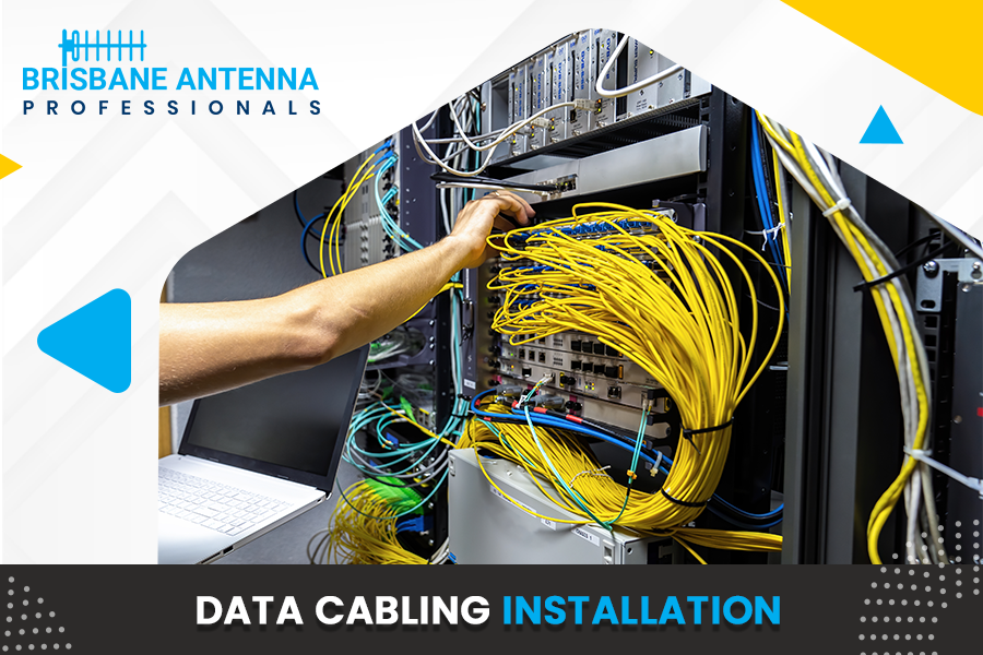 High frequency data cabling